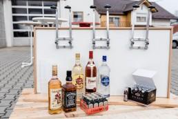 Spirituosen mit Barzubehör für Party und Feste erhältlich bei Getränkemarkt Getränke Brielbeck mit Partyservice in Ascha bei Straubing