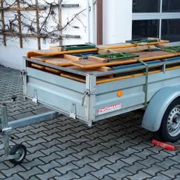 Anhängerverleih und Arbeitsbühne leihen in Straubing-Bogen, kleiner Anhänger mieten
